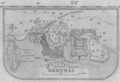 Map of Kerynia